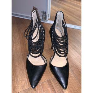 Jessica Simpson pointy toe black pumps